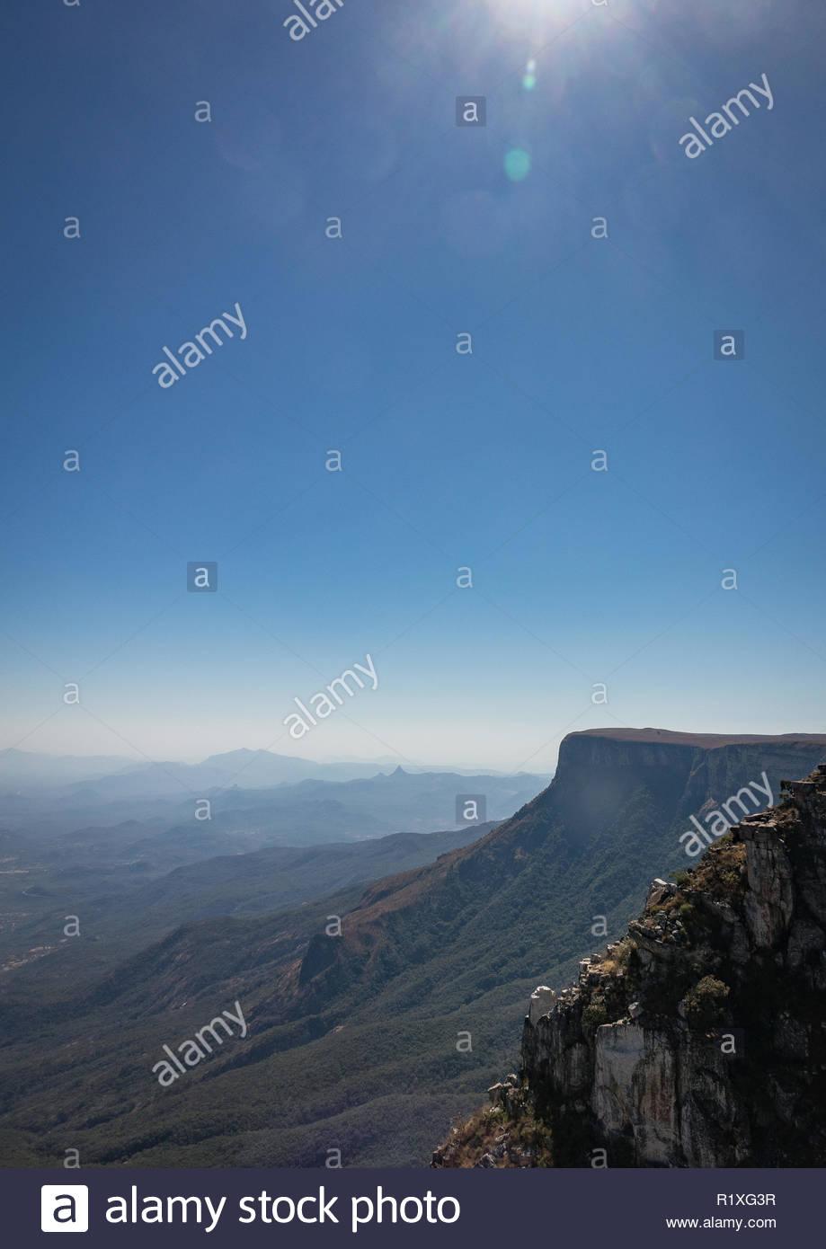 Tundavala Gap, Huila Province, Lubango, Angola - Stock Image