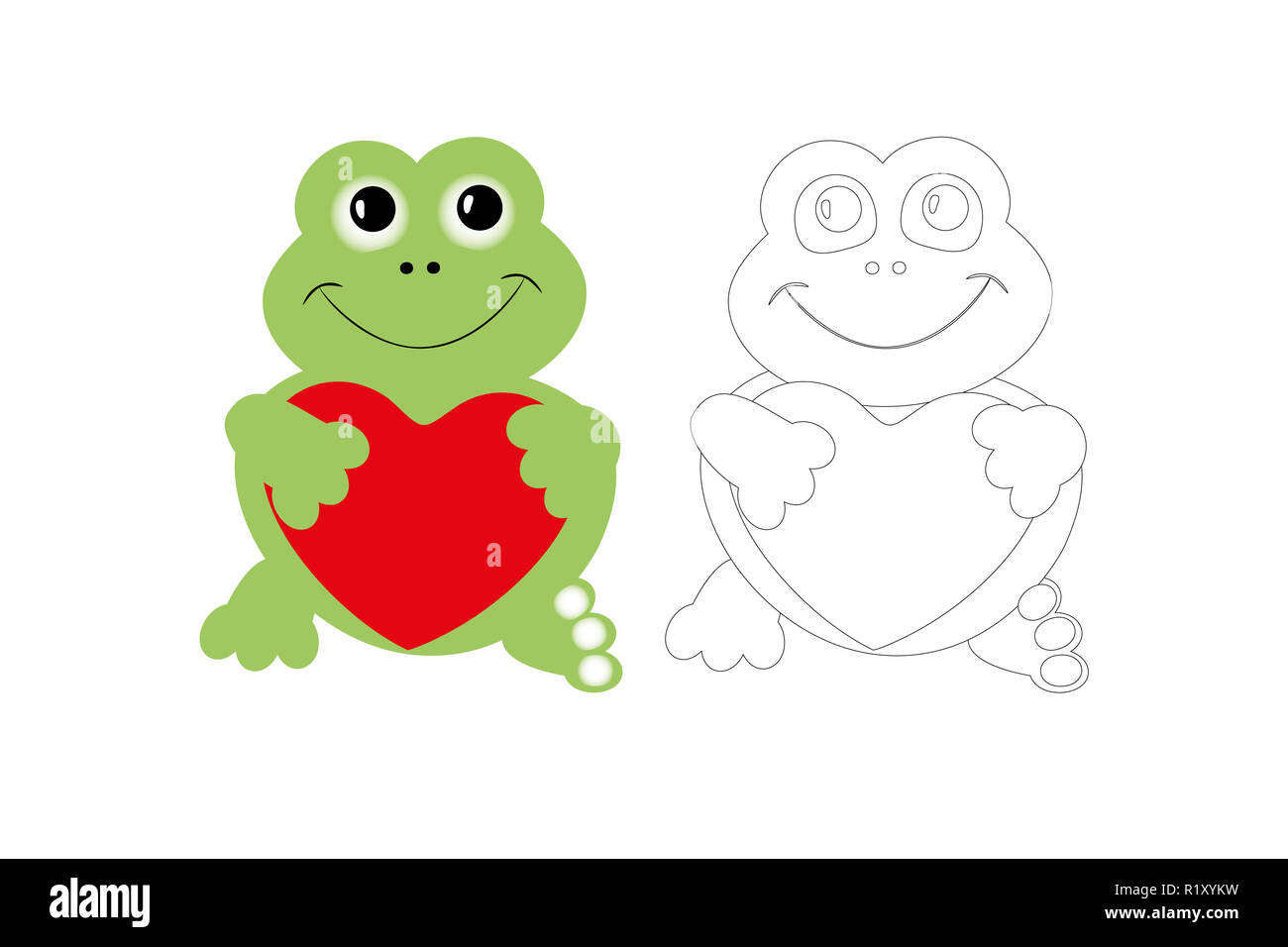 photograph relating to Printable Frog called Coloring site of lovable frog with colourful pattern, printable
