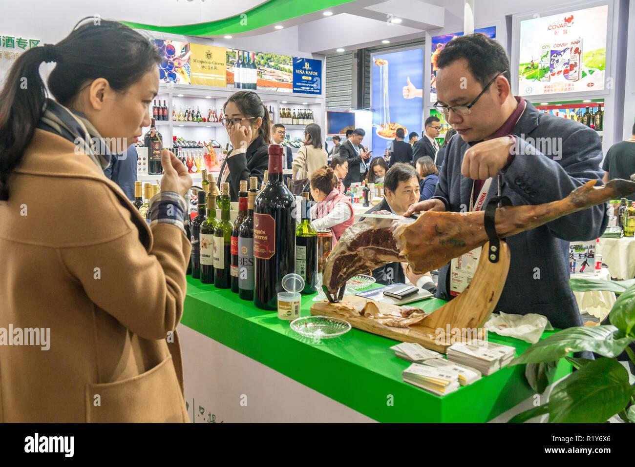 Shanghai, Shanghai, China  15th Nov, 2018  Shanghai, CHINA-The 22nd