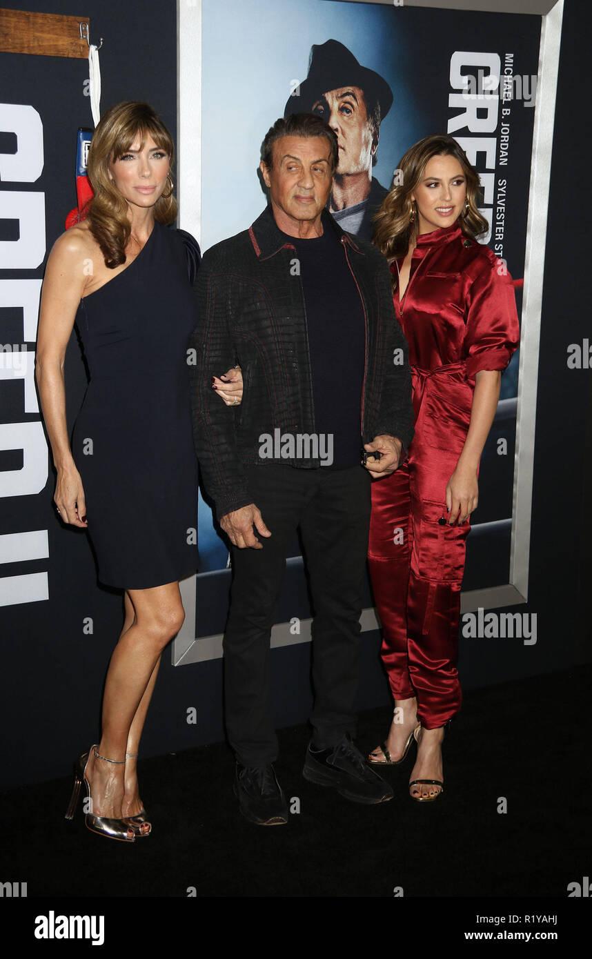 sylvester stallone new york shopping 60  Sylvester Stallone And Brigitte Nielsen Sighting At The ...