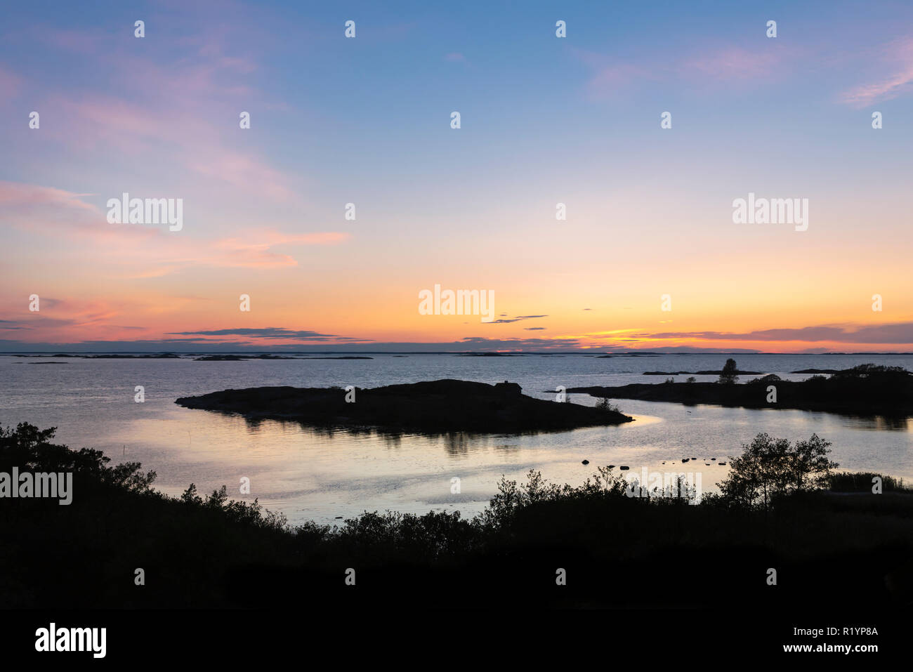 Seascape At Kokar Island Stock Photo Alamy