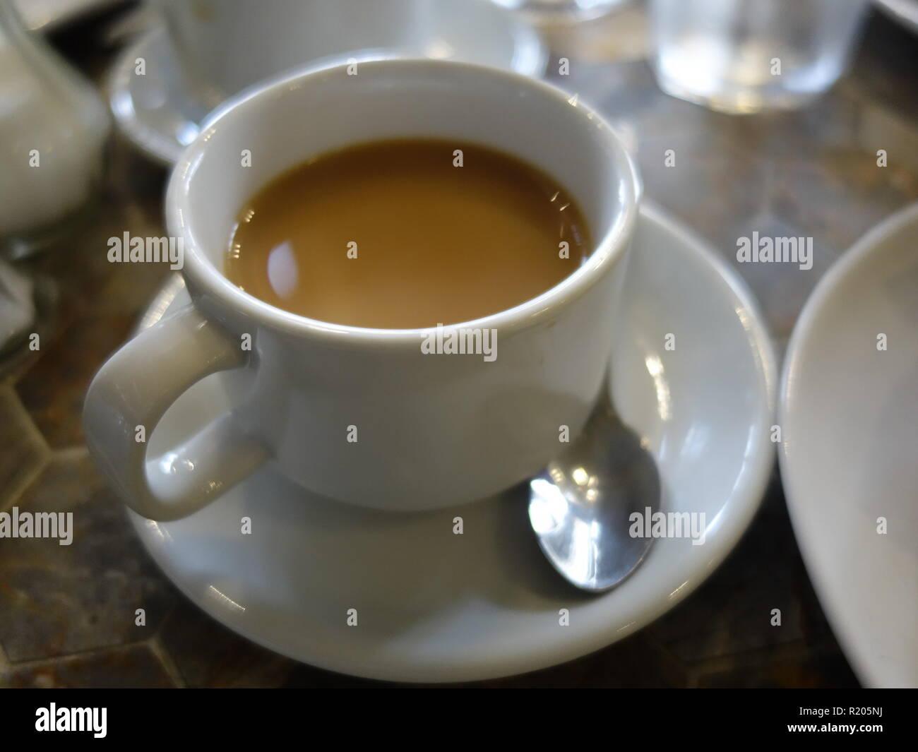 cup of english tea - Stock Image