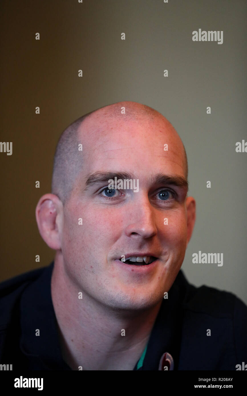 Ireland's Devin Toner during a press conference at Carton