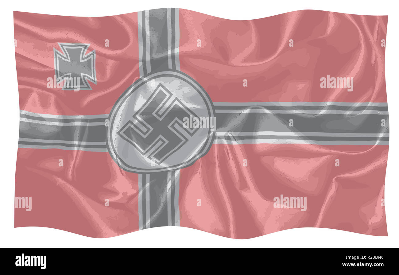 Nazi Flag Cut Out Stock Images & Pictures - Alamy