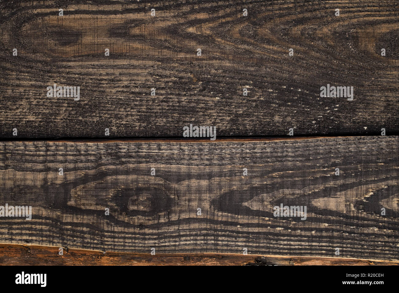 Close Up Of Dark Rustic Wall Made Of Old Wood Table Planks Texture