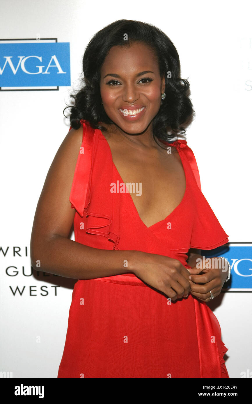 Kerry Washington   02/19/05 57TH ANNUAL WRITERS GUILD AWARDS @ Hollywood Palladium, Hollywood Photo by Izumi Hasegawa/HNW / PictureLux  (February 19, 2005) - Stock Image