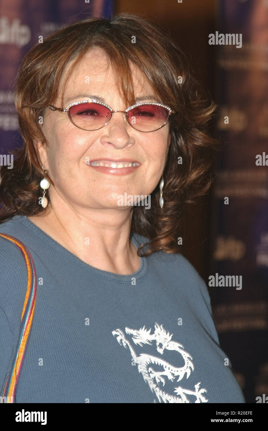 "Roseanne Barr   06/22/04 2004 LOS ANGELES FILM FESTIVAL ""FAHRENHEIT 9/11"" @ Directors Guild of America, Los Angeles Photo by Kazumi Nakamoto/HNW / PictureLux  (June 22, 2004) Stock Photo"