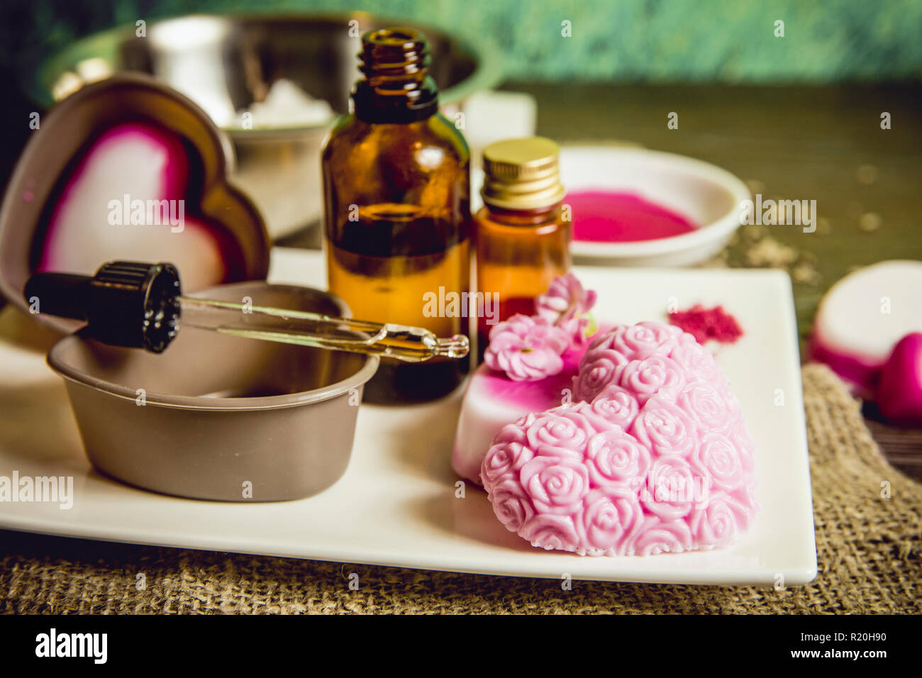 Soap Making Stock Photos & Soap Making Stock Images - Alamy