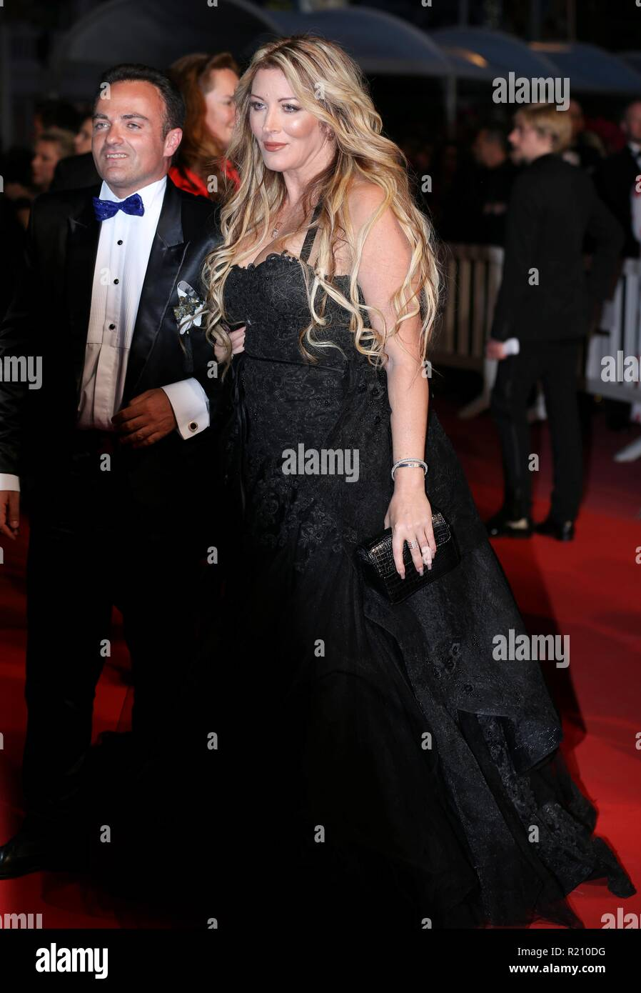 CANNES, FRANCE – MAY 12, 2018: Loana attends the screening of '3 Visages' during the 71st annual Cannes Film Festival - Stock Image