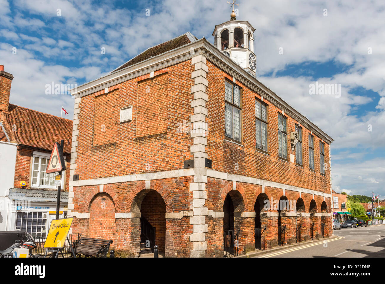 Old Amersham Market Hall, Amersham, Buckinghamshire, England - Stock Image