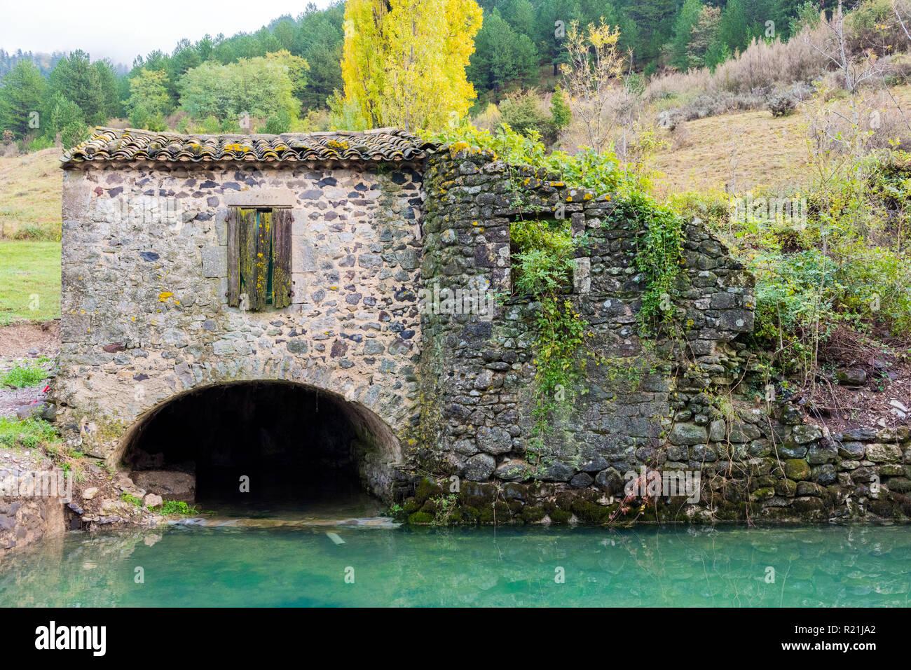 Saint-Etienne-de-Boulogne, Ardèche France - Stock Image