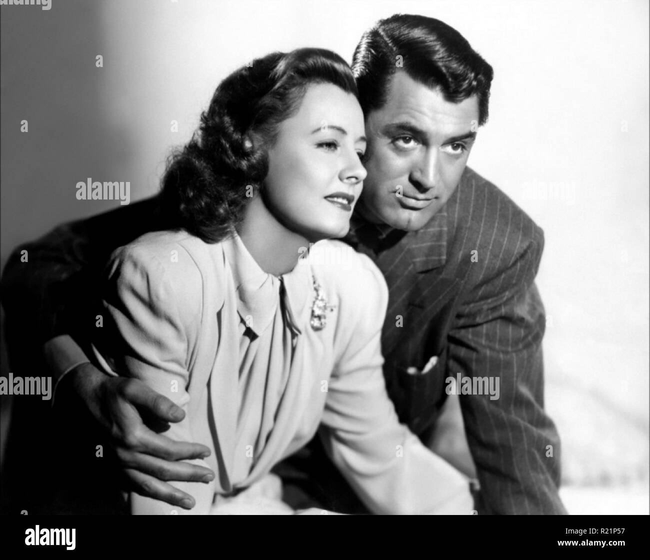 1941 film melodrama starring Irene Dunne, Cary Grant, Beulah Bondi, and Edgar Buchanan. The picture was directed by George Stevens, written by Martha Cheavens and Morrie Ryskind, and depicts the story of a loving couple who must overcome adversity to keep their marriage and raise a child. Grant was nominated for the Academy Award for Best Actor for his performance. Credit: Hollywood Photo Archive / MediaPunch - Stock Image