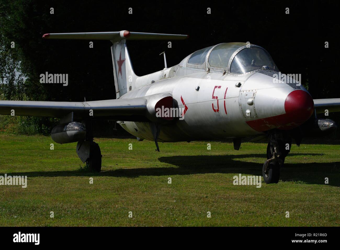 Aero L-29 Delfin - Stock Image