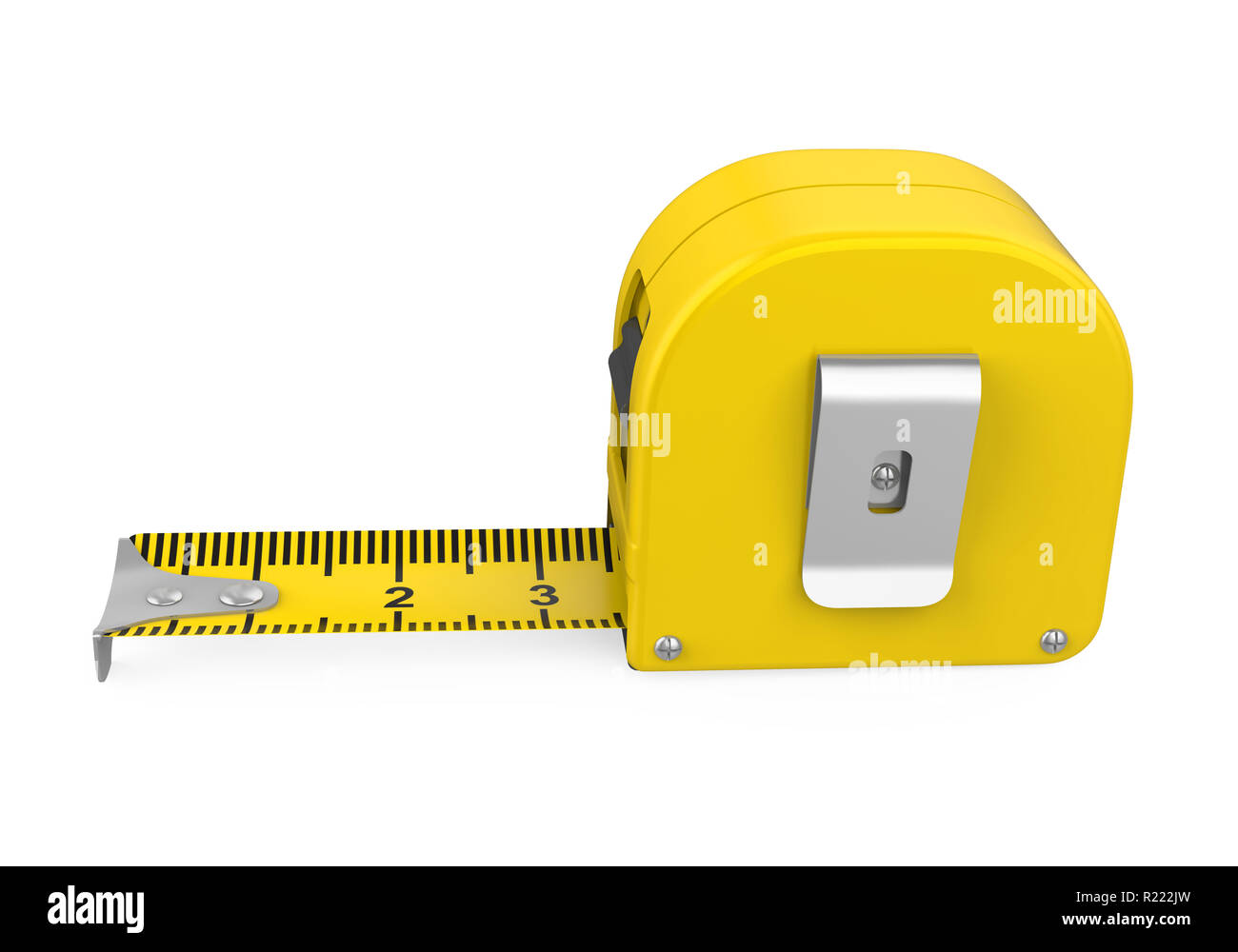 Tape Measure Isolated - Stock Image