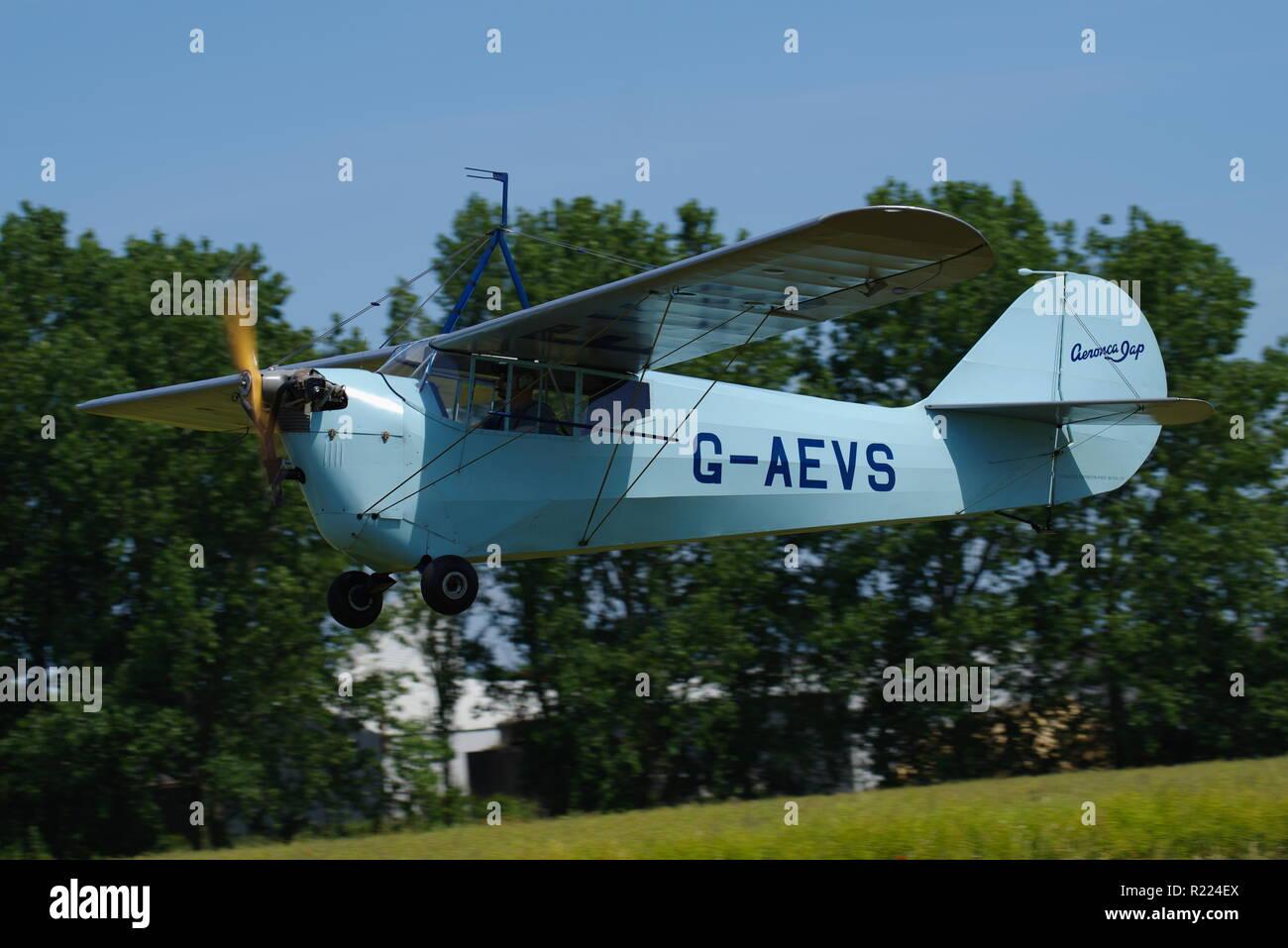 Aeronca, Monoplane - Stock Image