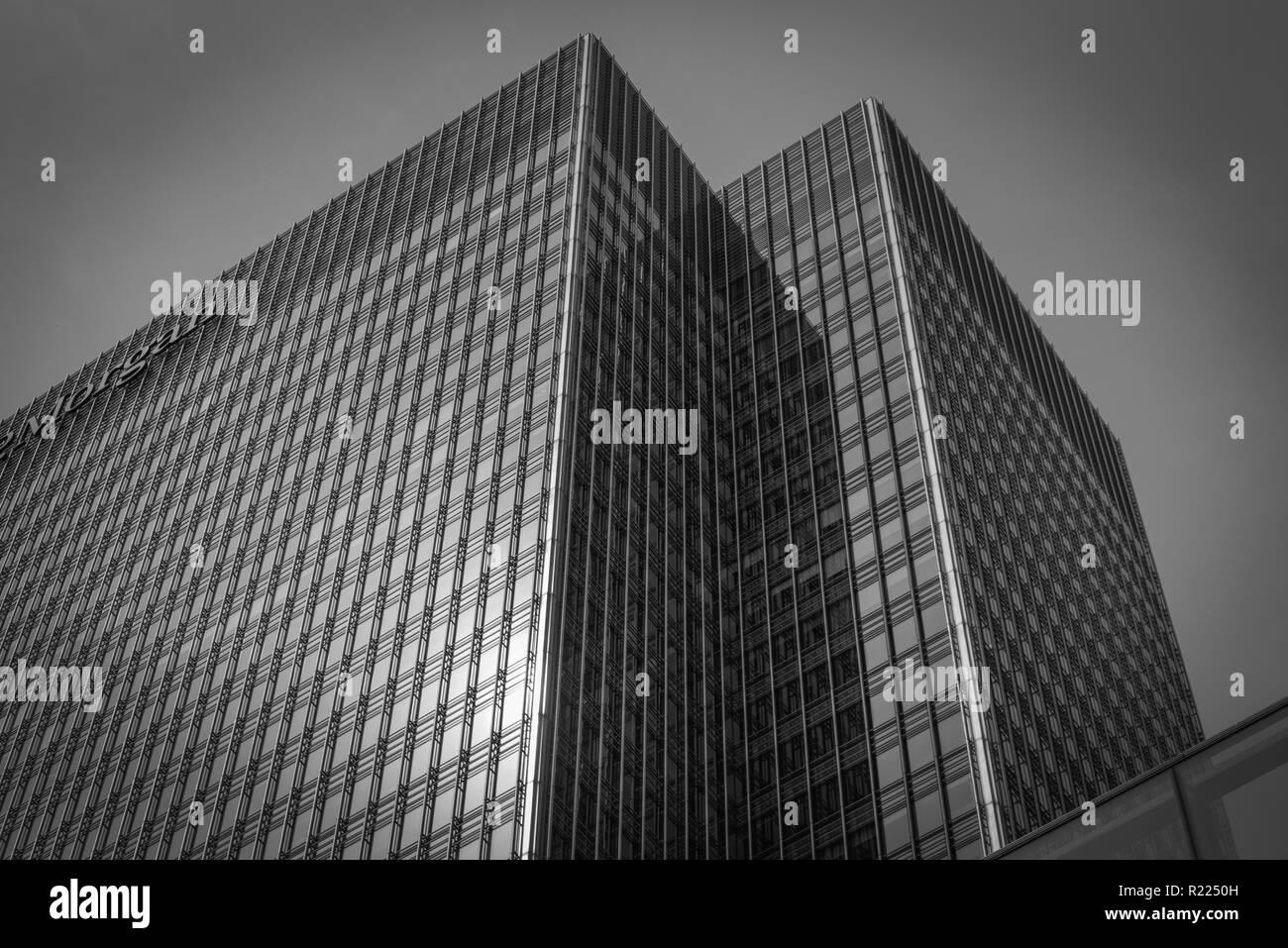 Canary Wharf. - Stock Image