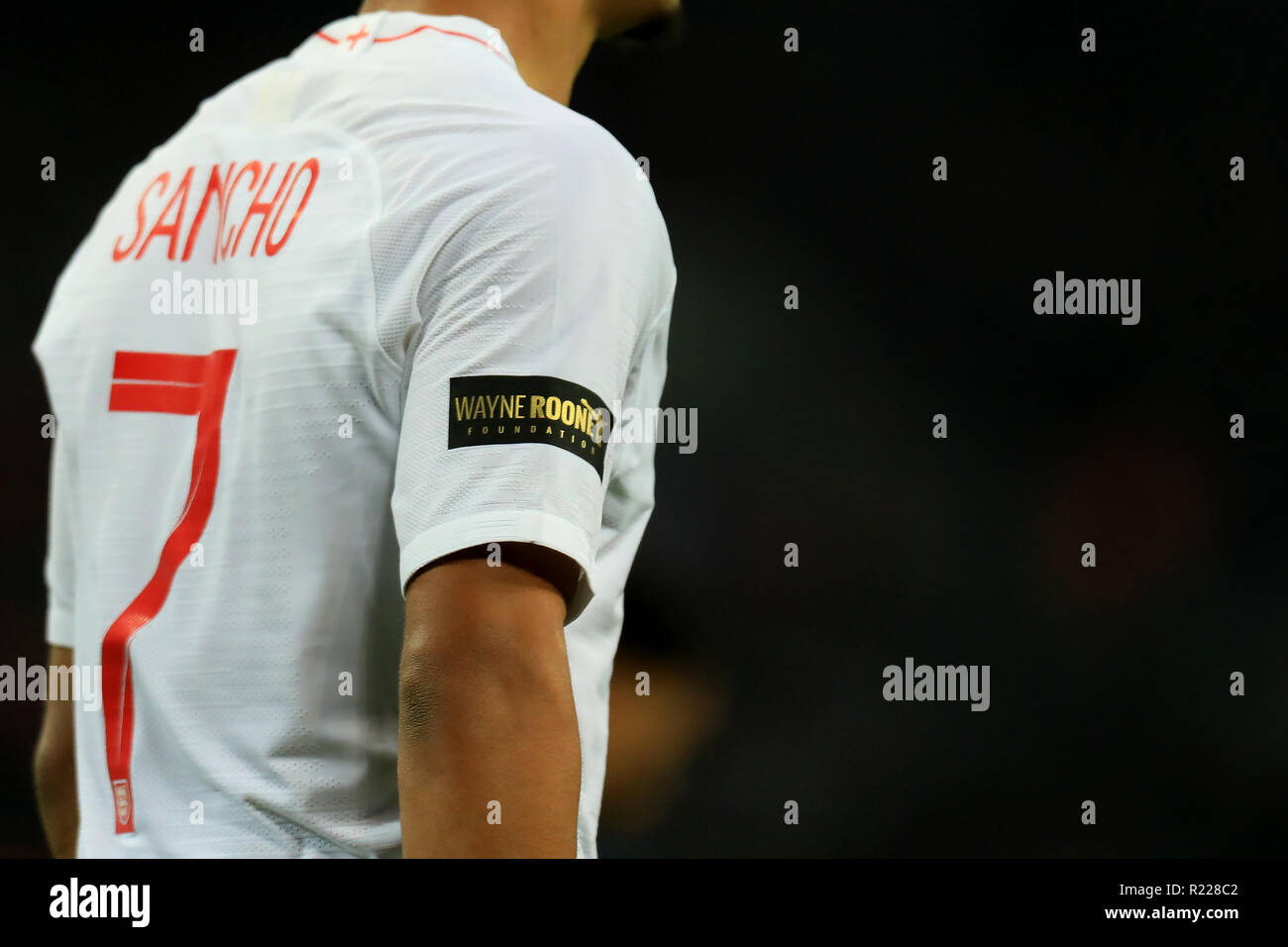 hot sale online df63c 14b7d Wembley Stadium, London, UK. 15th Nov, 2018. Wayne Rooney ...