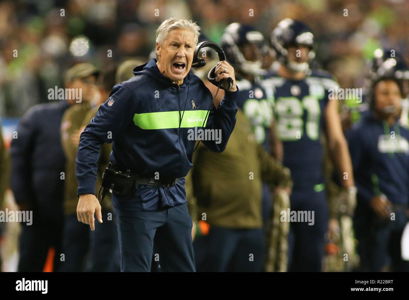 who has pete carroll coached for