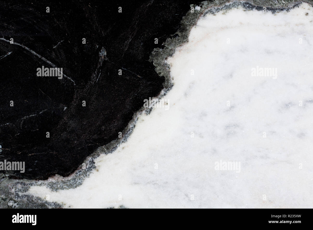 Black And White Marble Texture With Grey In The Middle Stock Photo Alamy
