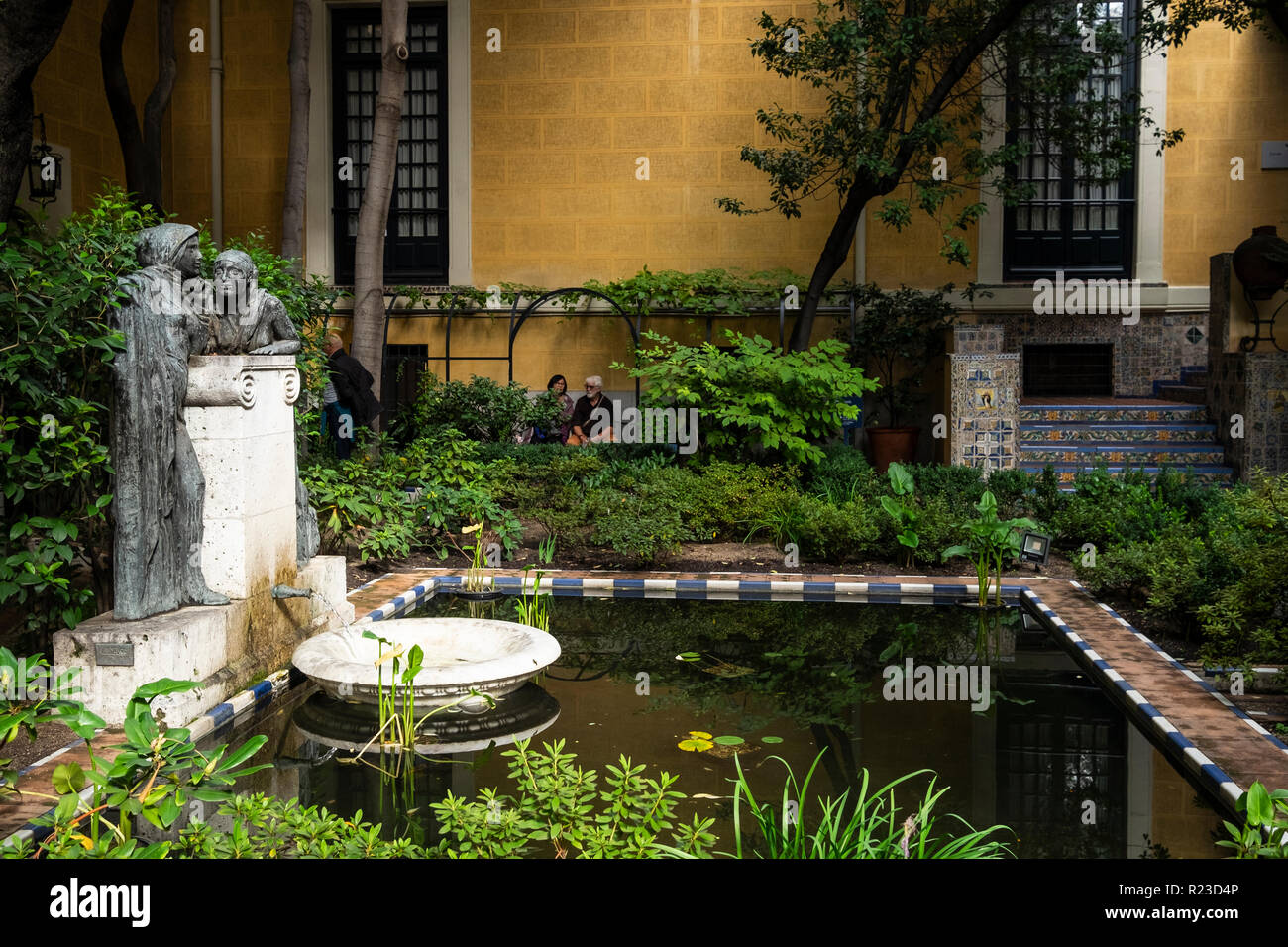 Museo Sorolla Madrid.Garden Of The Museo Sorolla Sorolla Museum Artists House Garden