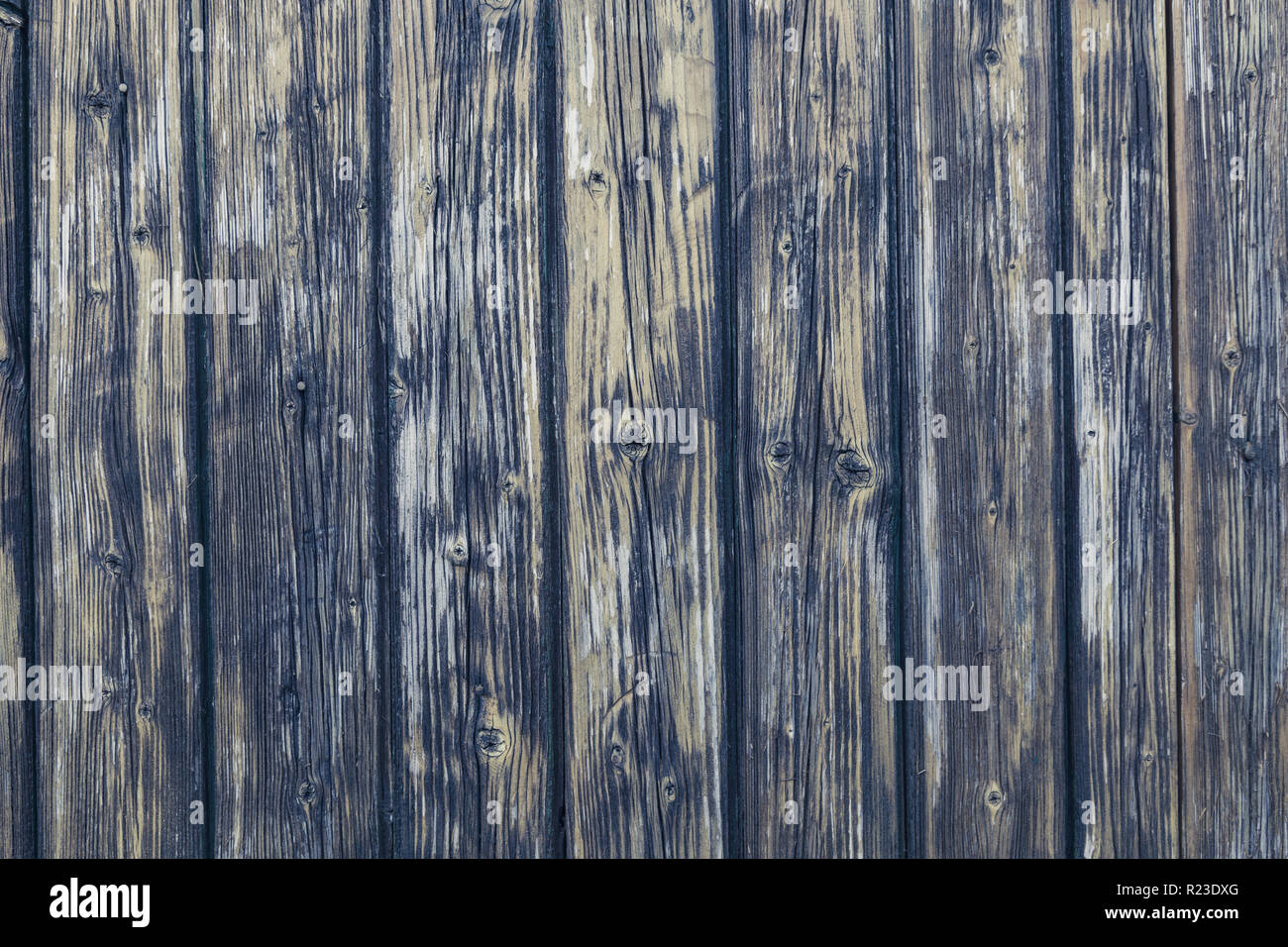 Vintage wood fond structure in used look. - Stock Image