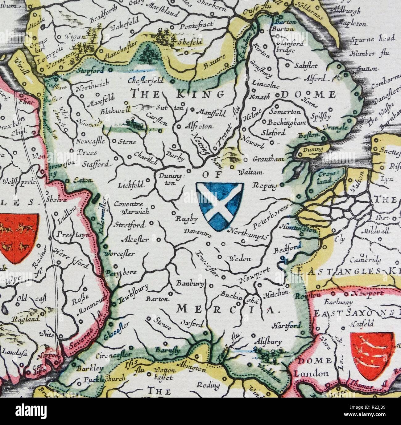 Anglo Saxon Map Of England.Anglo Saxon Map Stock Photos Anglo Saxon Map Stock Images Alamy