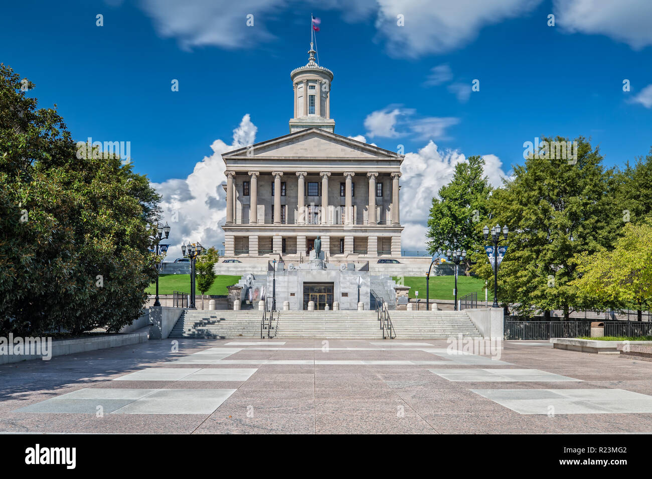 Tennessee State Capitol in Nashville Stock Photo