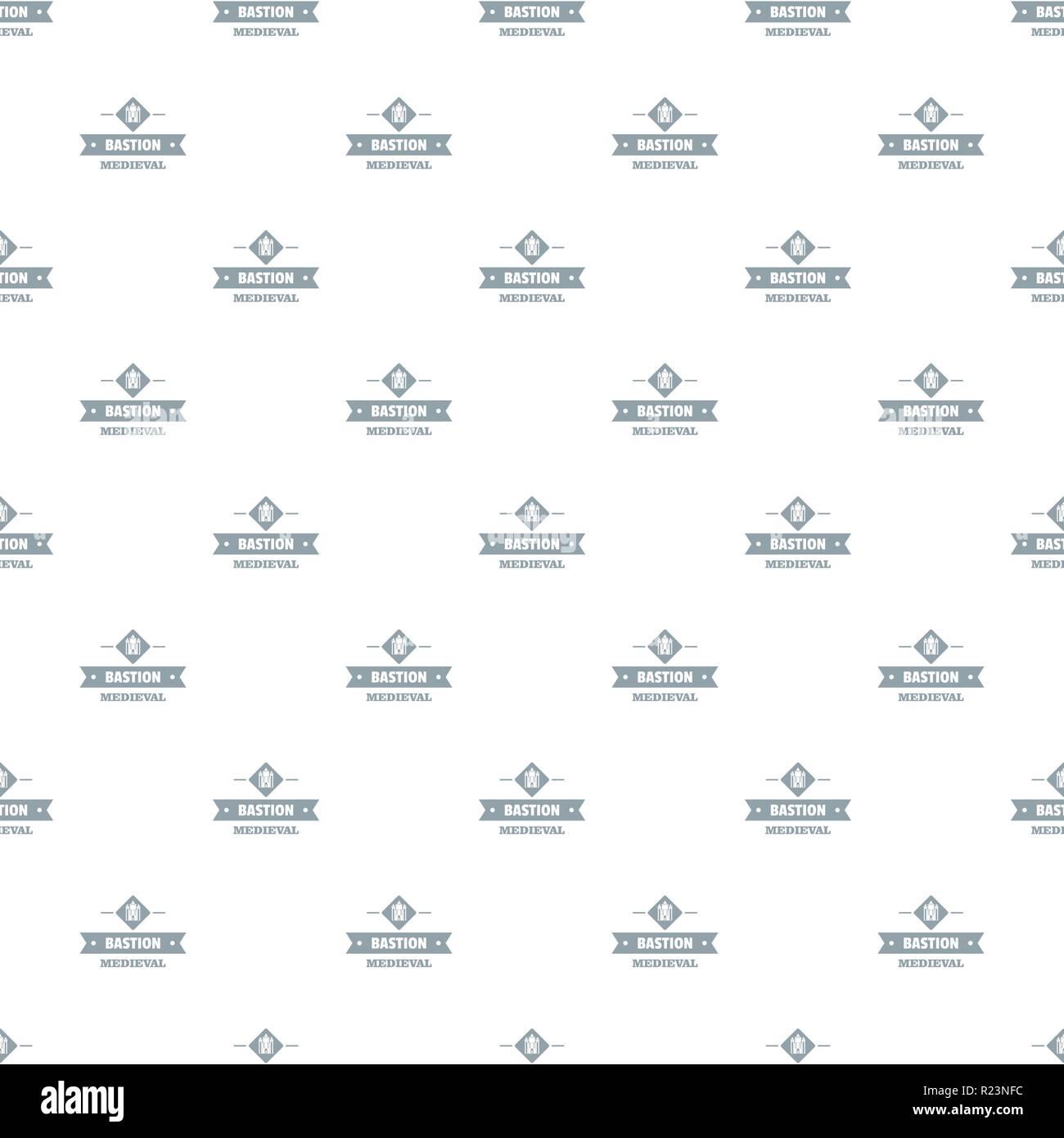 Victorian bastion pattern vector seamless - Stock Vector