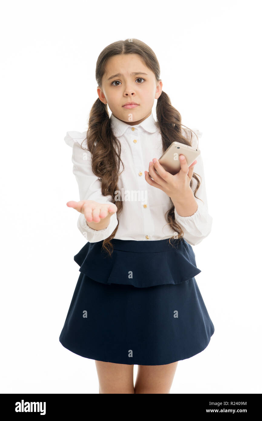 Please one more call  Schoolgirl ask permission to use