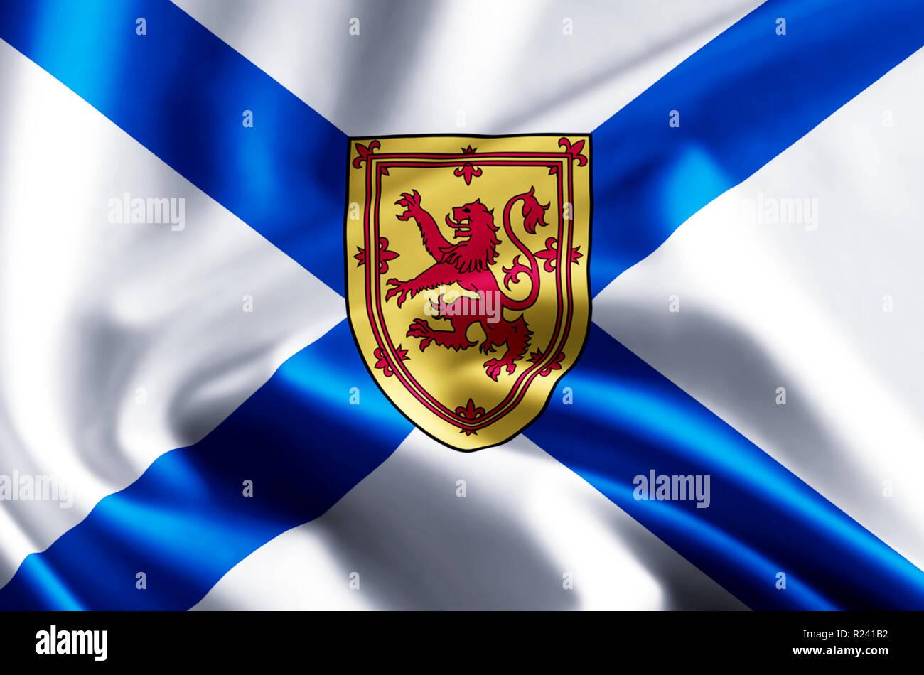 Nova Scotia Flag High Resolution Stock Photography And Images Alamy