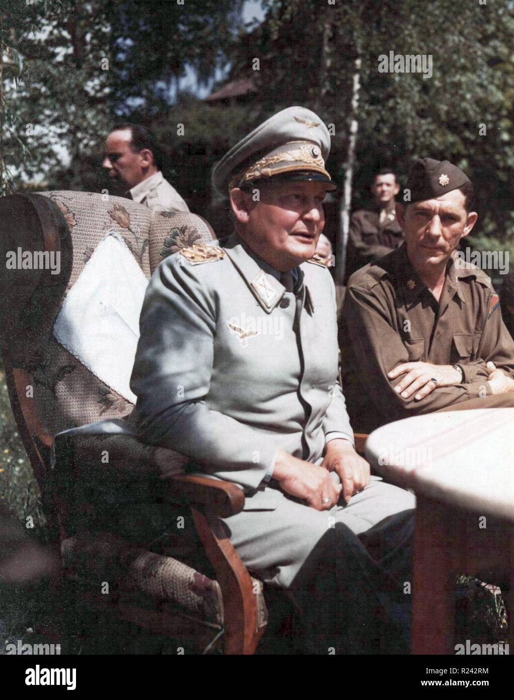 Hermann Wilhelm Goring ( 1893 - 15 October 1946) German politician, of the Nazi Party (NSDAP),captured in Germany 1945 Stock Photo