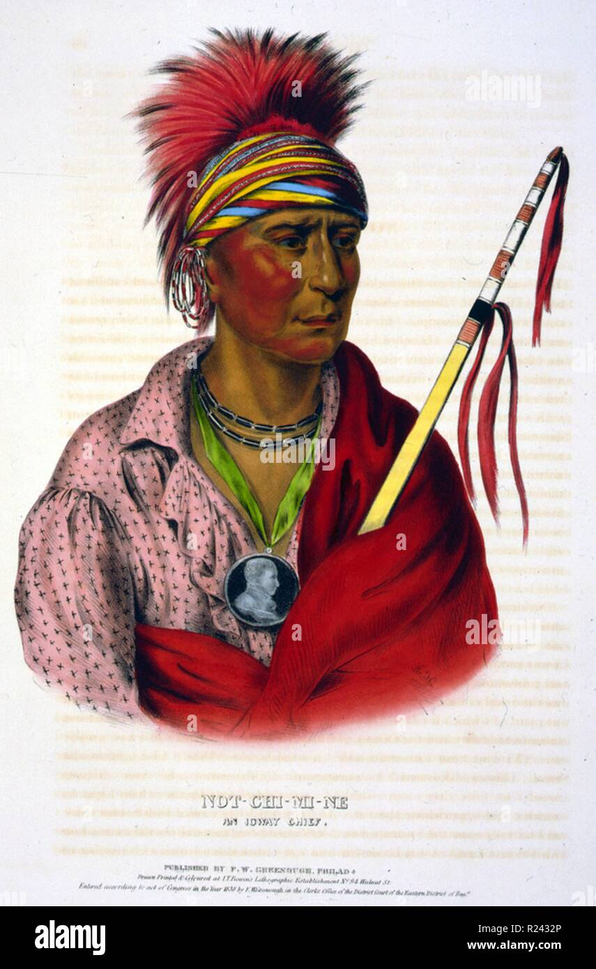Tribe Native American Indian Chief Stock Photos & Tribe Native