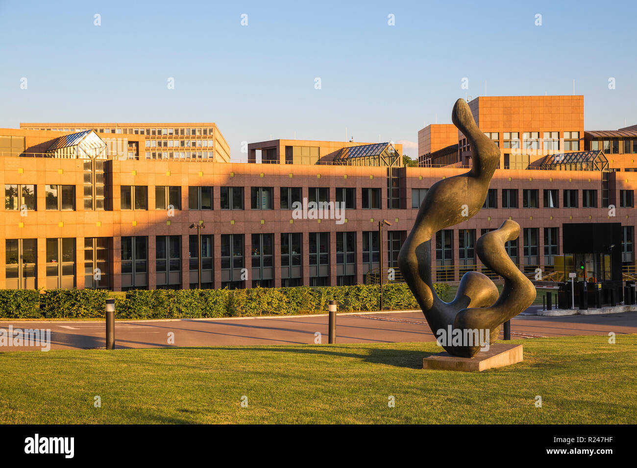The European Court of Justice, Kirchberg, Luxembourg City, Luxembourg, Europe - Stock Image