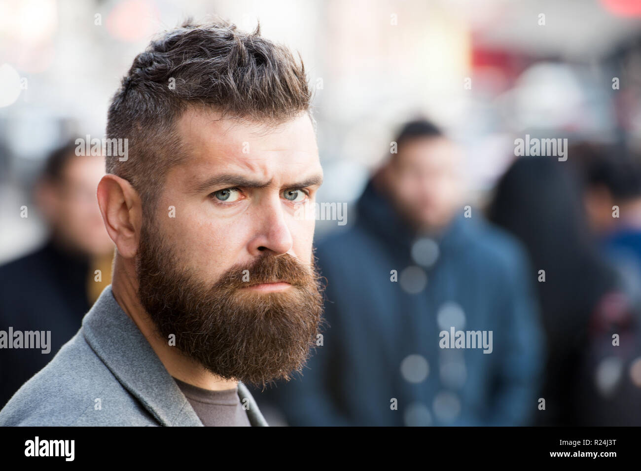 Bearded And Cool Barber Tips Maintain Beard Hipster Appearance