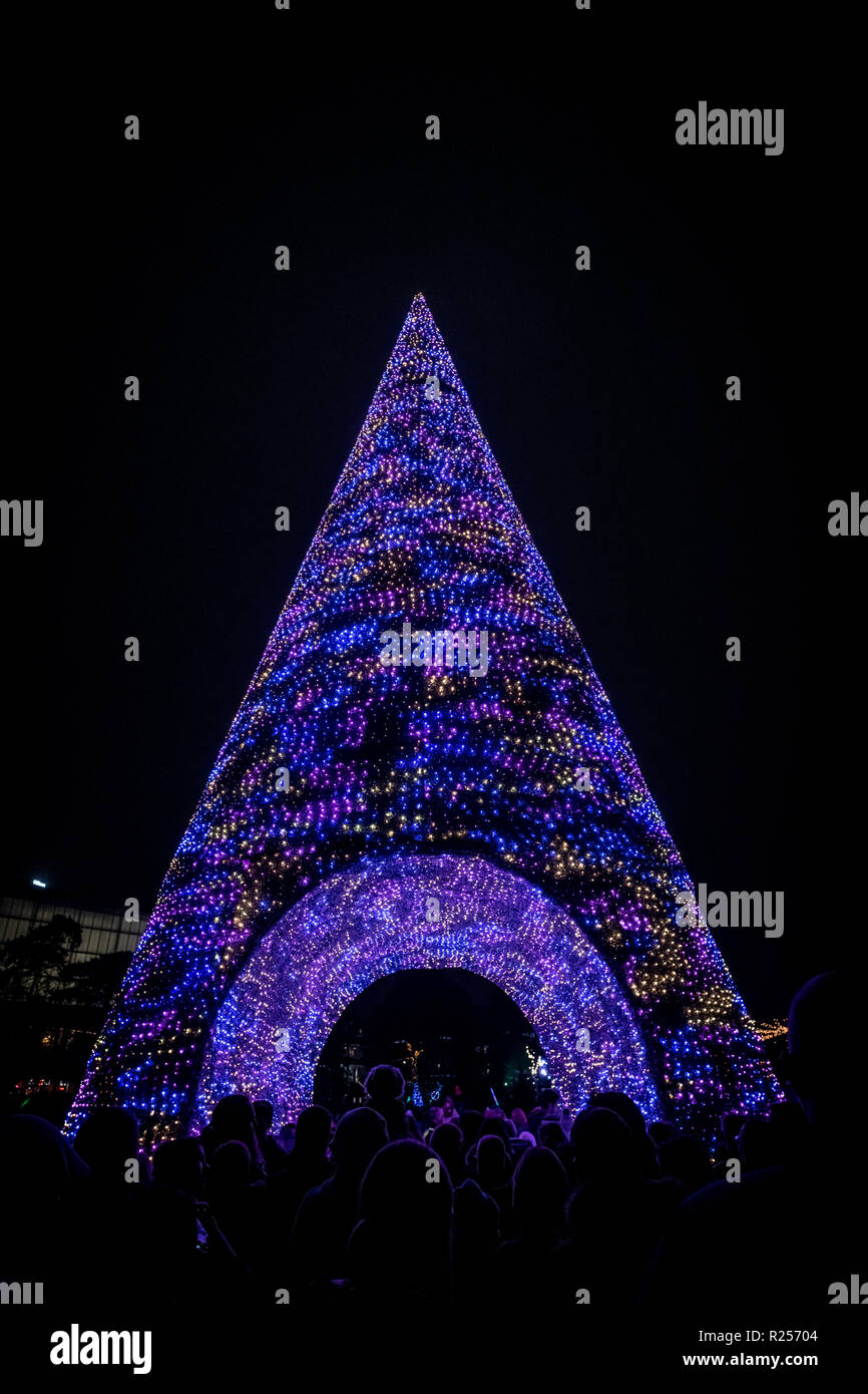 Christmas Light Switch On Event Stock Photos & Christmas Light ...