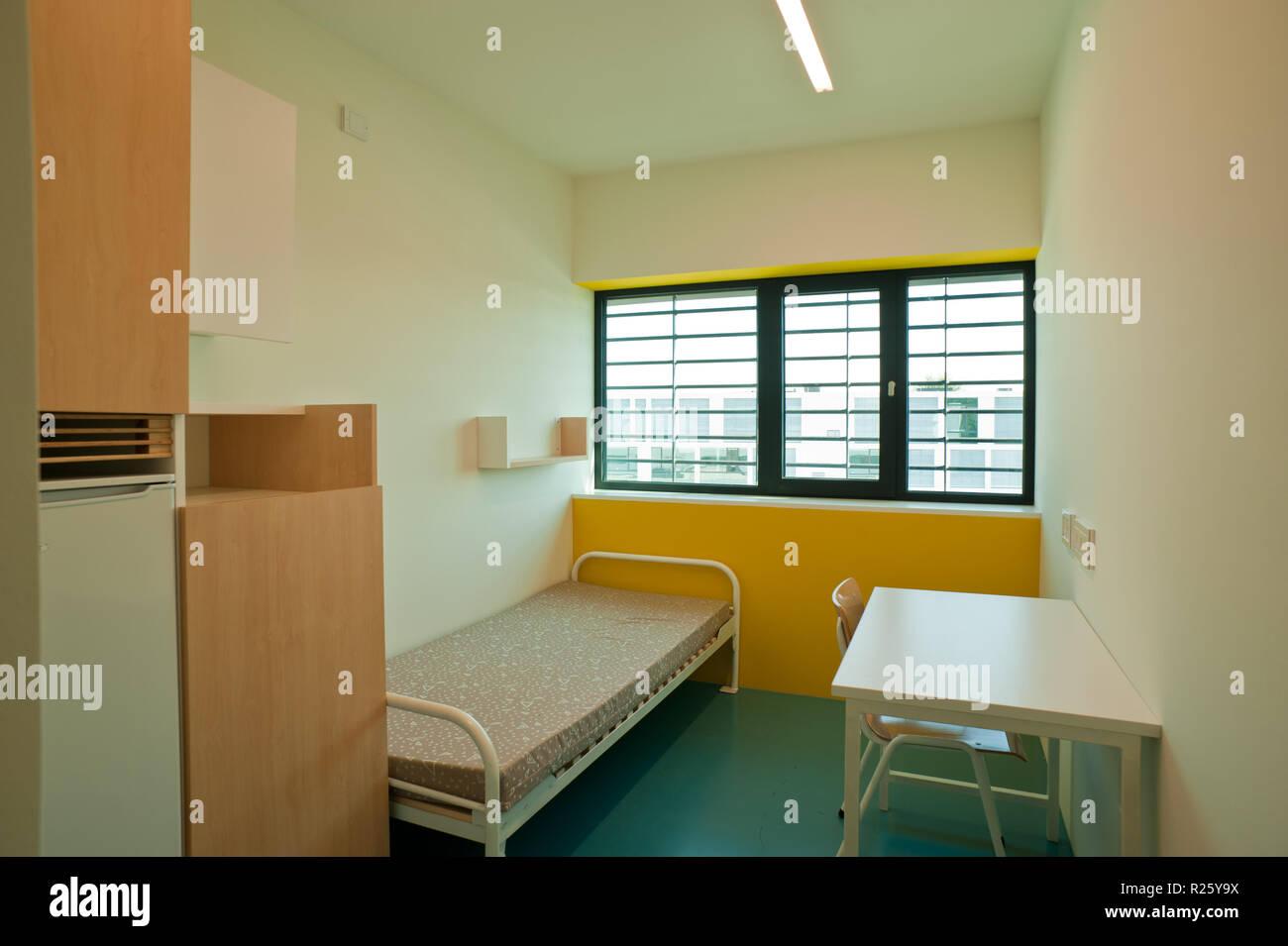 Justizzentrum Korneuburg, Strafanstalt Stock Photo