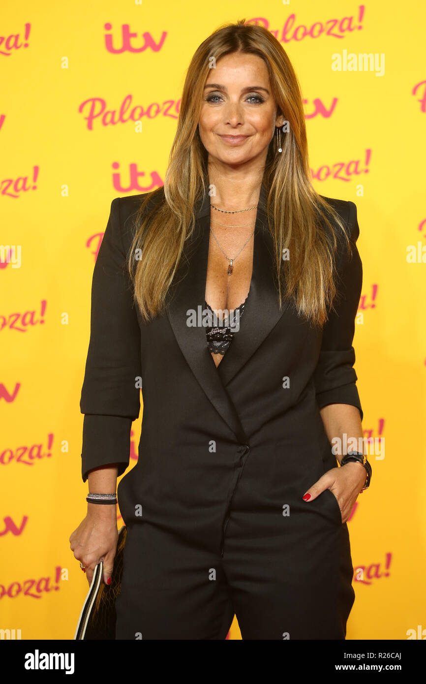 the itv palooza 2018 held at the royal festival hall arrivals featuring louise redknapp. Black Bedroom Furniture Sets. Home Design Ideas