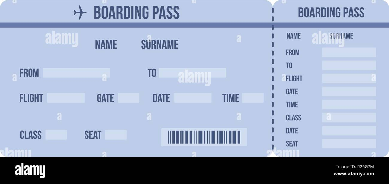 Ticket icon. Flat illustration of ticket vector icon for web - Stock Image