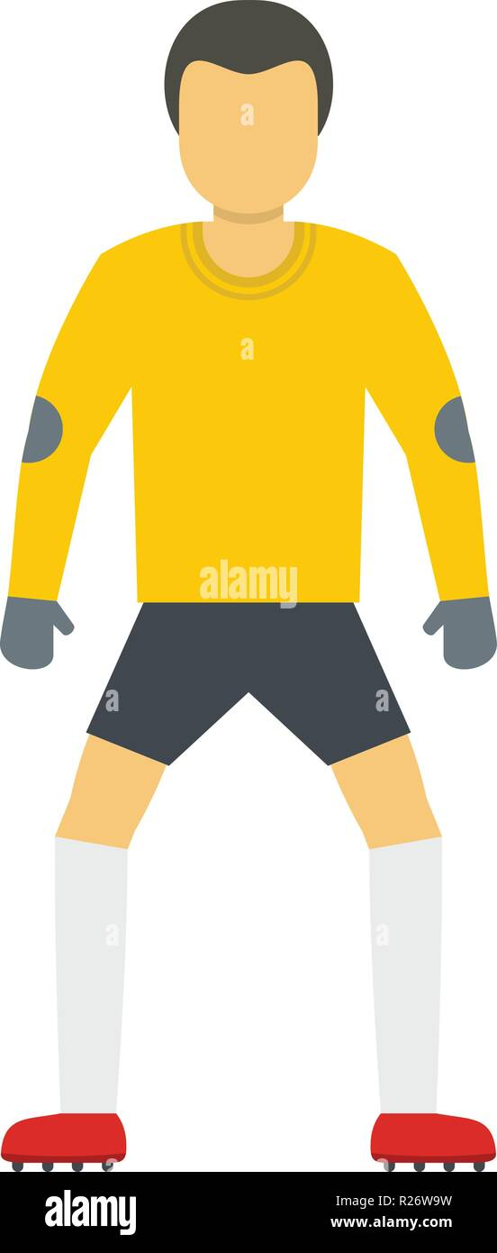 Soccer icon. Flat illustration of soccer vector icon for web - Stock Vector