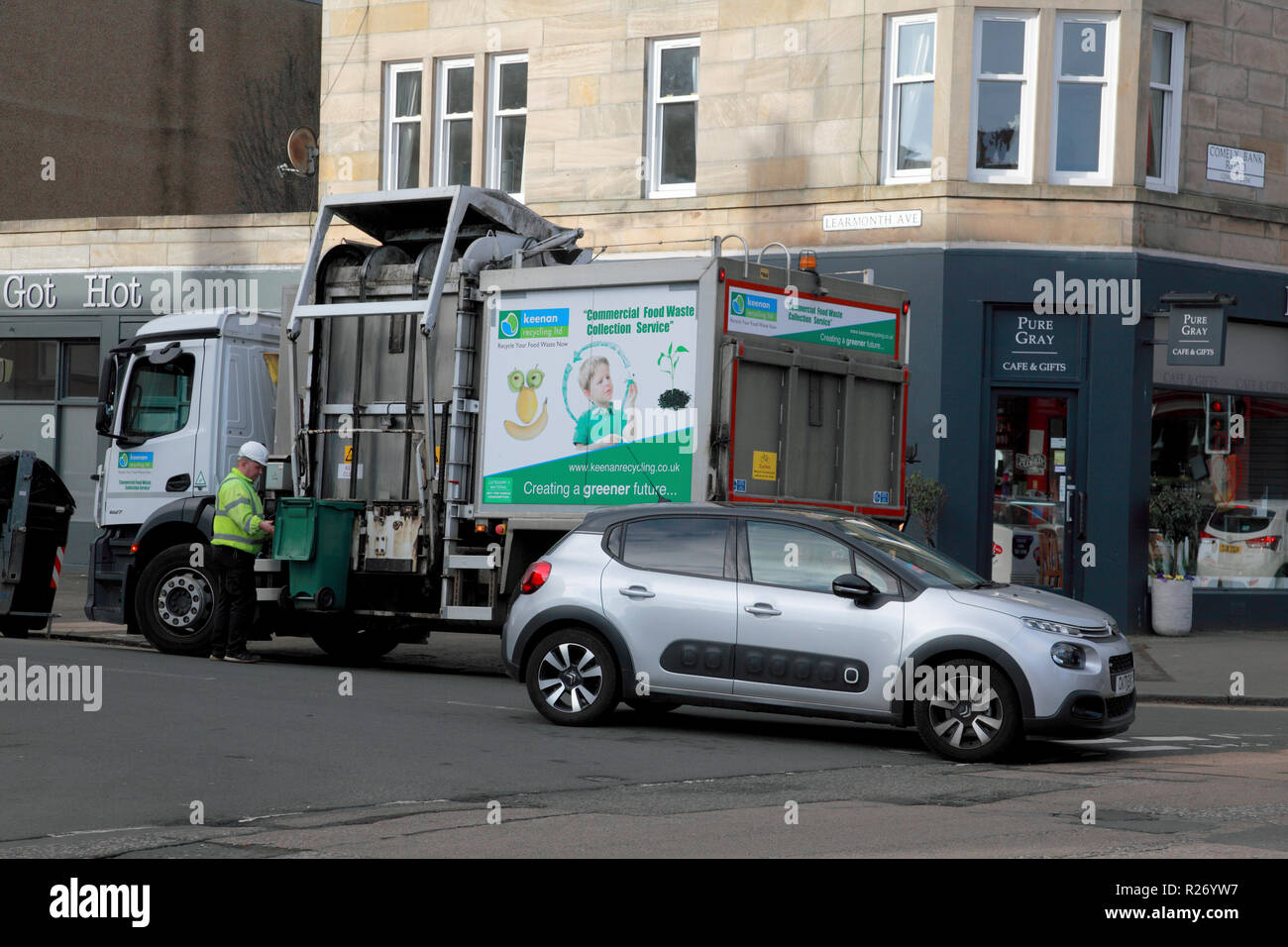 Bin Lorry Stock Photos Amp Bin Lorry Stock Images Alamy