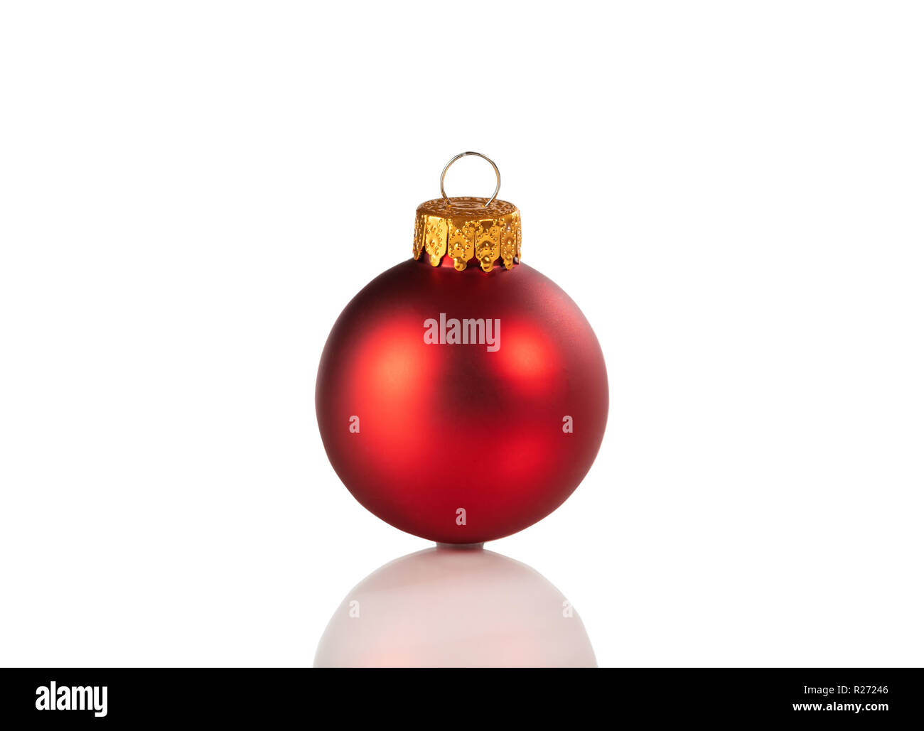 Christmas Ornament Ball Reflection Stock Photos & Christmas Ornament ...