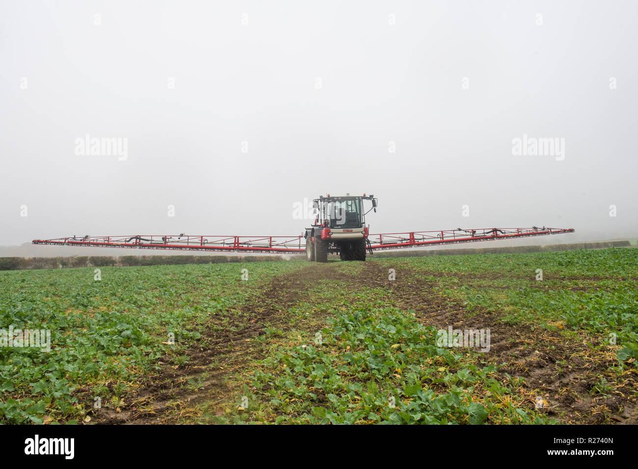 Agrifac crop sprayer - Stock Image