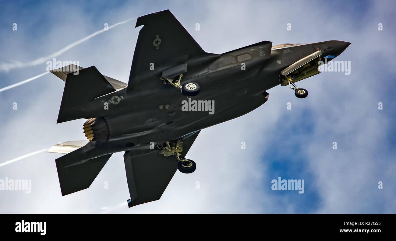 F35 lightning fighter jet - Stock Image