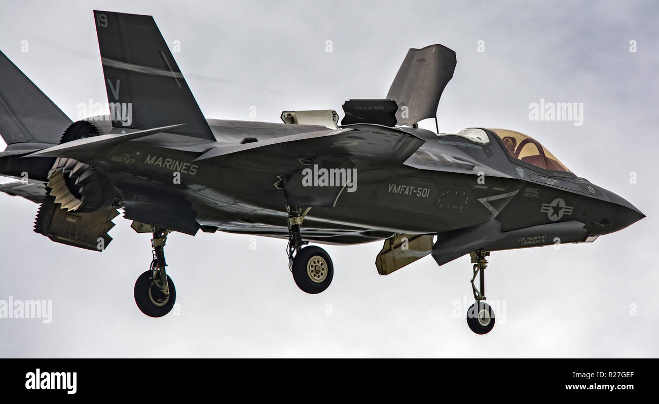 F35 lightning fighter - Stock Image