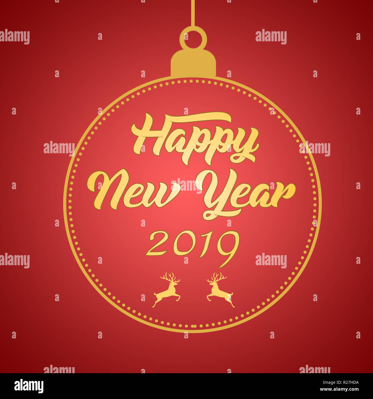 Happy New Year Greeting Card 89