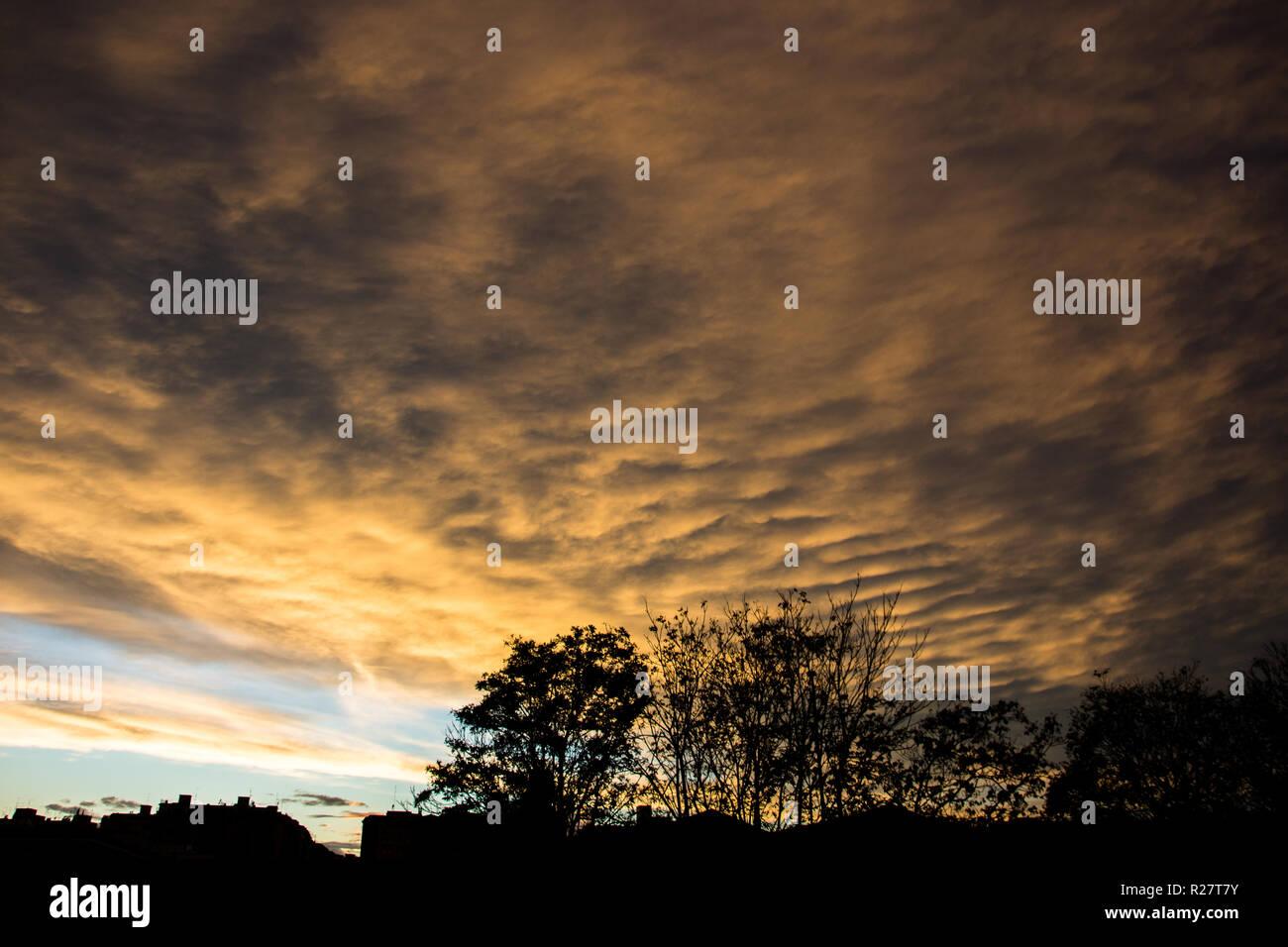 Roman Sunset - Tramonto romano Stock Photo