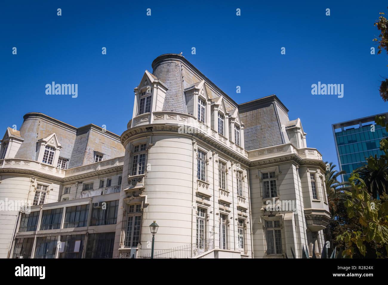 Carrasco Palace - Vina del Mar, Chile - Stock Image