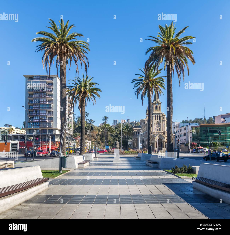 Plaza Sucre - Vina del Mar, Chile - Stock Image