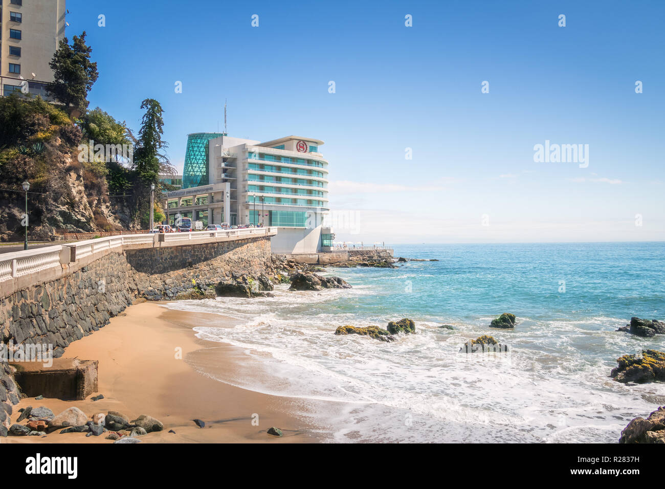 Sheraton Hotel - Vina del Mar, Chile - Stock Image