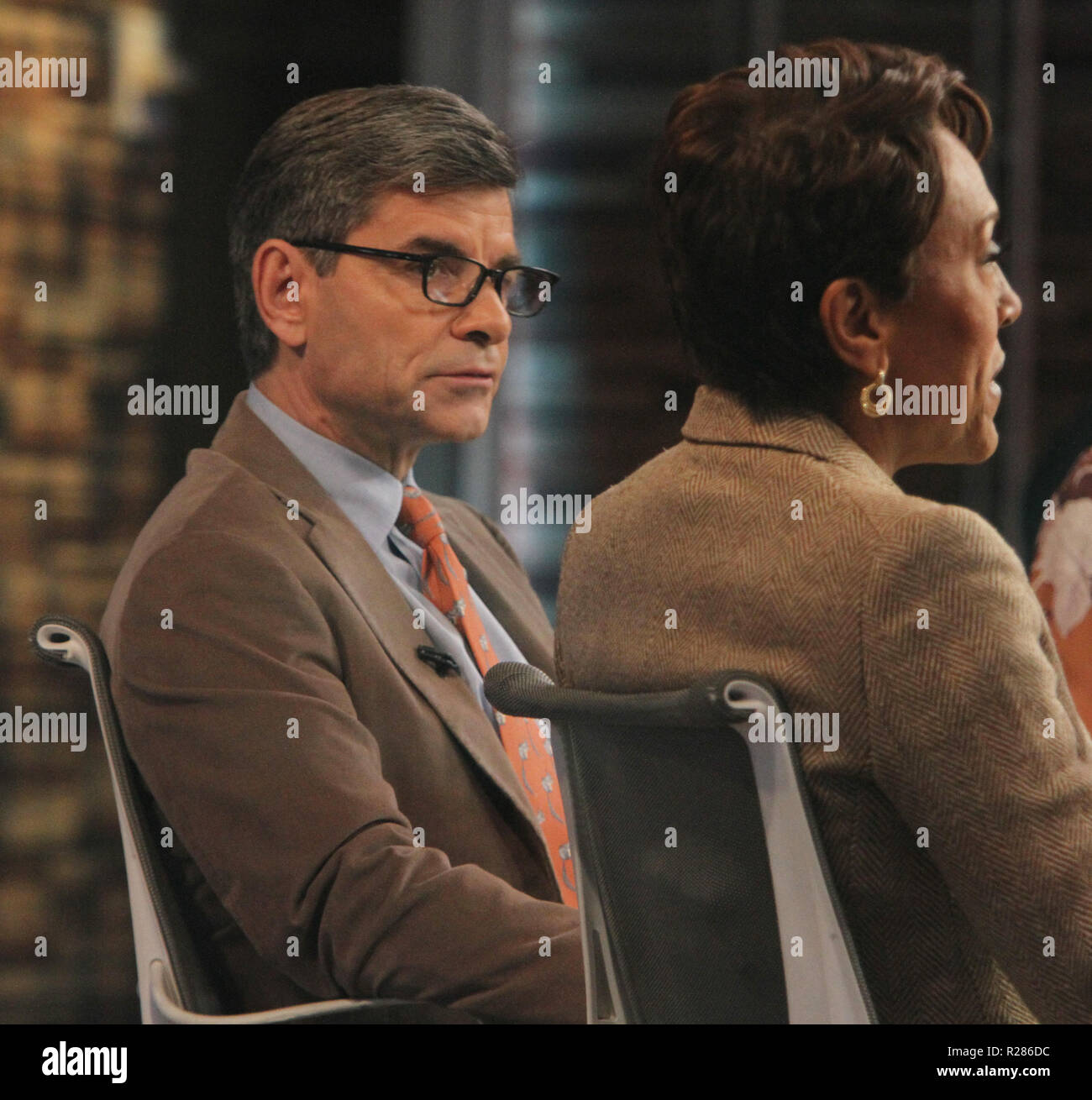 November 16, 2018 George Stephanopoulos host of Good Morning America in New York. November 16, 2018 Credit:RW/MediaPunch - Stock Image